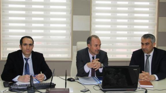Eğitim öğretim faaliyetleri ve çözüm önerileri toplantısı